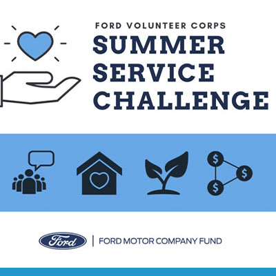 Ford Volunteer Corps Introduces Summer Interns to Advocacy