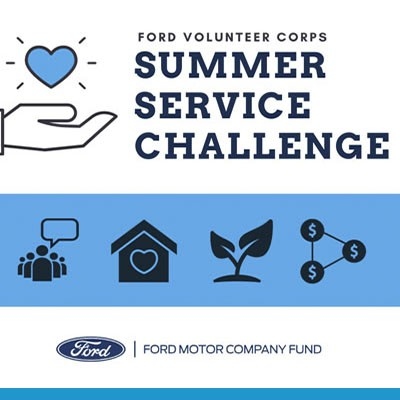 Ford Volunteer Corps Summer Service Challenge
